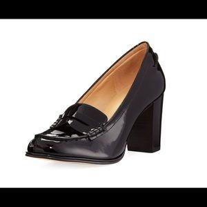 Patent Leather Block Heels